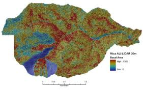 Moscow Mountain Tree Density