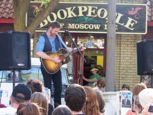 Josh Ritter at Book Signing