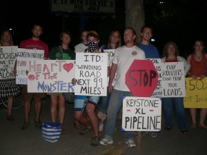 Megaload Protest 8-26-11