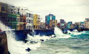 Cuban waterfront