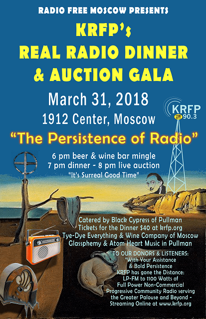 Get Your Real Radio Dinner Tickets Poster
