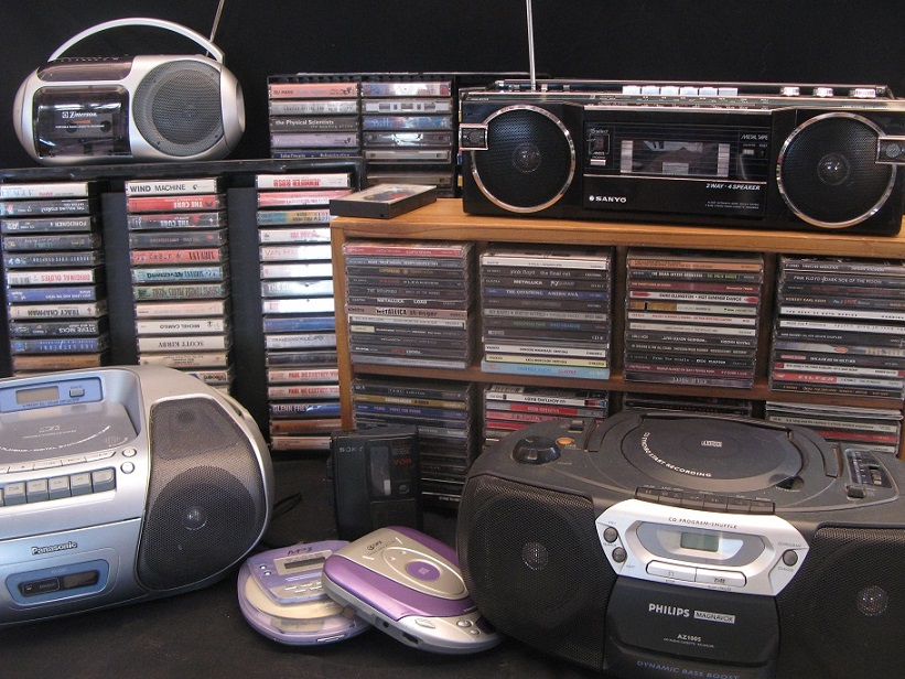 CDs, Tapes, Players, and more CDs!