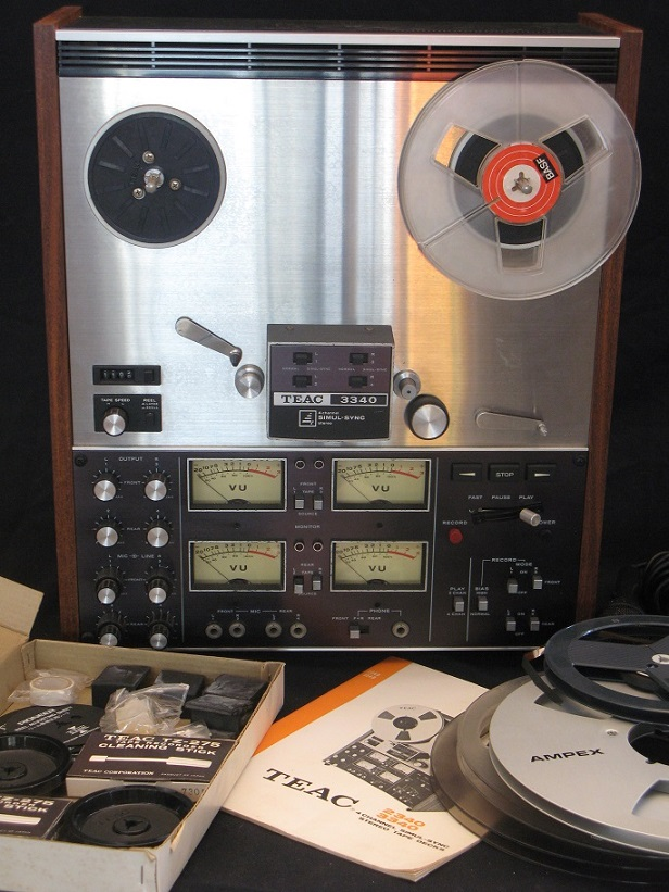 Full Track Analog Recording & Playback Gear